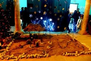 altar de navidad