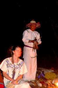 shaman and girl