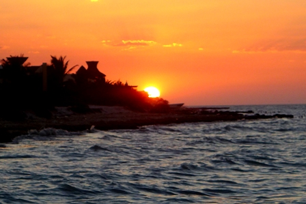 Sunset over Progresso