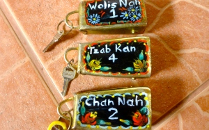 The cowbells key rings