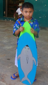 Reyli King of the surfers He is the son of one of my boys