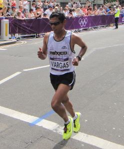 Daniel Vargas Mexican runner Photo thanks to Wikipedia