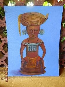 Maya statue found in Copan