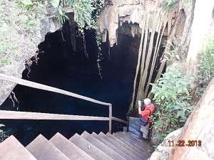 Cenote near Abala
